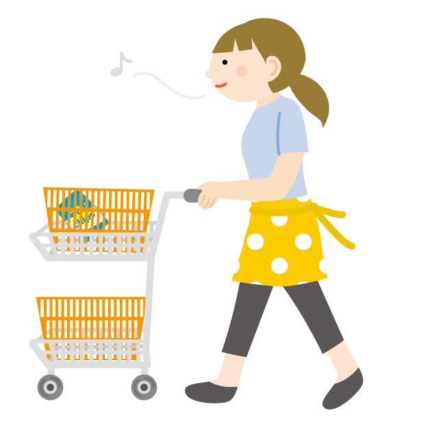 買い物をする-借金生活脱出日記