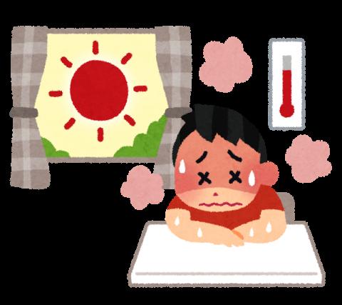室内で熱中症-借金生活脱出日記