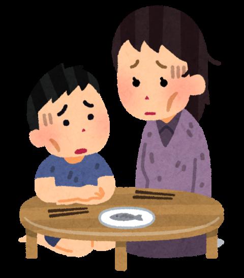 貧しい食卓-借金生活脱出日記
