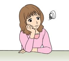 悩む-借金生活脱出日記